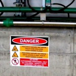 Rotary Milking Systems Safety Signs