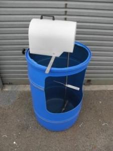 200 litre drum agitator 2