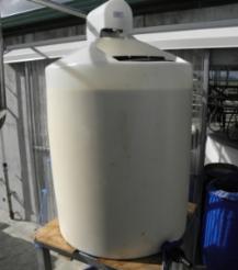 Calf milk or Colostrum tank complete with agitator unit 4